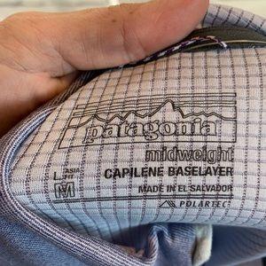 Patagonia Tops - {Patagonia} capilene baselayer pullover